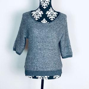 Ann Taylor Loft sparkly wool blend sweater
